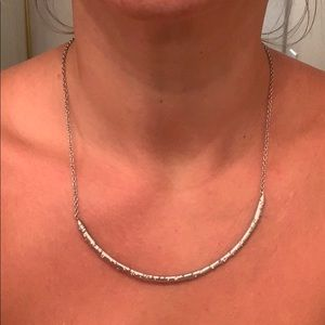 Kendra Scott curved bar necklace